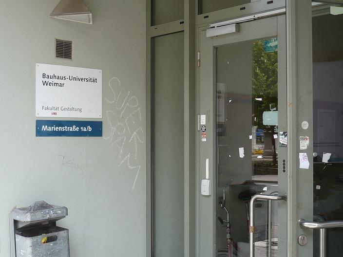 Weimar BauhausUni 1
