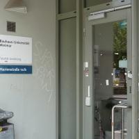 25.07.21 # Vor 10 Jahren auf dieser SEITE / 25.07.11 BauhausUni Weimar präsentiert gestalteten SCHANDFLECK #